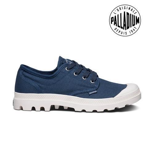 Palladium Pampa Oxford-男-藍