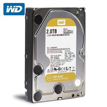 WD 威騰 WD2005FBYZ Gold 2TB 3.5吋企業級硬碟