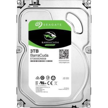 Seagate新梭魚BarraCuda 3TB 3.5吋 桌上型硬碟 (ST3000DM008)