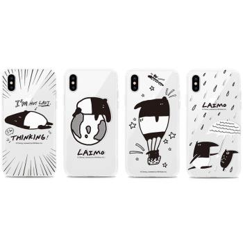 GARMMA LAIMO馬來貘iPhone X 空壓氣墊防摔保護軟殼