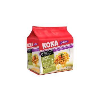 KOKA 非油星洲叻沙味拉麵340g(6袋/組)
