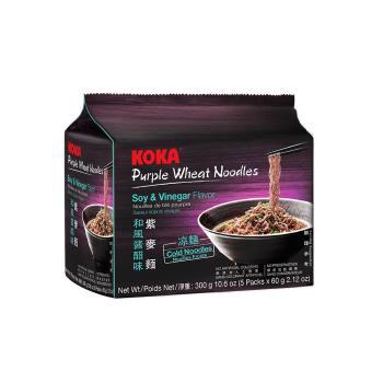 KOKA 紫麥麵-和風醬醋味300g(6袋/組)