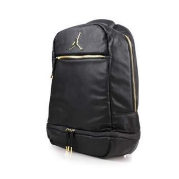 NIKE JORDAN 後背包-飛人喬丹 雙肩包 後背包 15吋筆電 黑金