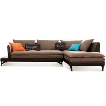 【MY傢俬】北歐現代舒適布面L型沙發