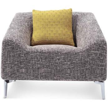 【MY傢俬】現代美式舒適布面單人沙發