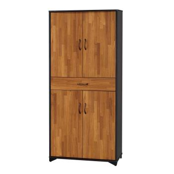 Bernice-莫那2.6尺四門一抽高鞋櫃
