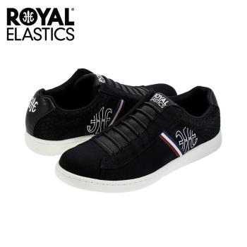 【Royal Elastics】男-JAZZ 休閒鞋-黑(00973-990)