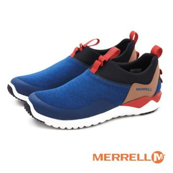 MERRELL 1SIX8 MOC 輕量休閒運動 男鞋-撞色藍