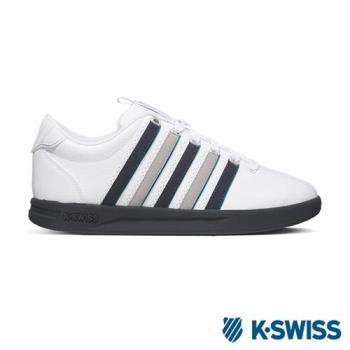 K-Swiss Court Pro S CMF休閒運動鞋-男-白/黑/灰