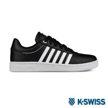 K-Swiss Cout Cheswick S休閒運動鞋-女-黑/白
