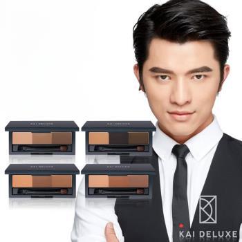 【KAI DELUXE 小凱老師】型色大師 特調三色眉粉盒(4色可選)