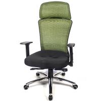 aaronation 愛倫國度 - 多彩網背調整扶手頭枕電腦椅七色可選AM-A141-CB-L-HF