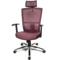 aaronation 愛倫國度 - 多彩設計鋁腳頭枕電腦椅七色可選AM-A120-CB-L-HF
