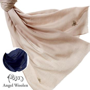 Angel Woolen 印度Pashmina手工羊絨刺繡披肩圍巾(Debby的圓舞曲-共兩色)
