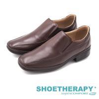 SAPATOTERAPIA 巴西輕量質感紳士 男皮鞋-咖