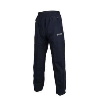FIRESTAR 男防潑水防風長褲-慢跑 路跑 網布內裡 運動長褲 丈青灰