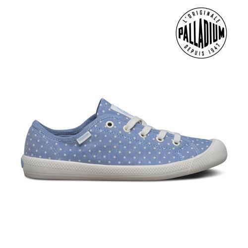 Palladium Flex lace-女-藍