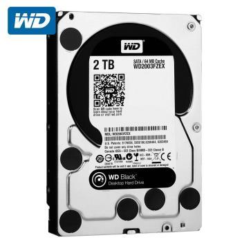 WD 威騰 WD2003FZEX 黑標 2TB 3.5吋SATA硬碟