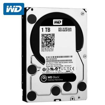 WD 威騰 WD1003FZEX 黑標 1TB 3.5吋SATA硬碟