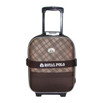 【ROYAL POLO】17吋 雋永格紋旅行箱