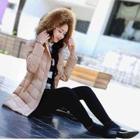 【A3】一衣三穿-時髦修身保暖羽絨棉長版外套(黑/紅/卡其/軍綠)M-XXL預+現