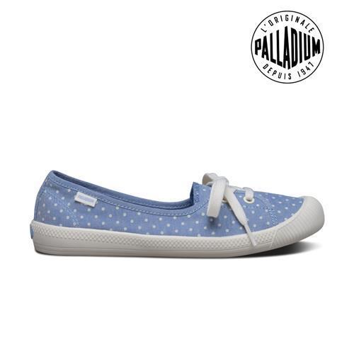 Palladium Flex ballet-女-藍