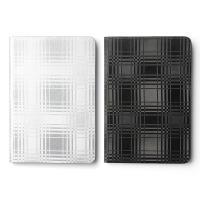 ZENUS Apple iPad Mini23 金屬格紋 書本式皮套