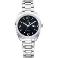 Olym Pianus奧柏表-聚焦 石英腕錶-黑 33mm 5706LS