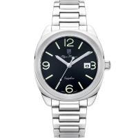 Olym Pianus奧柏表~聚焦 石英腕錶~黑 5706MS