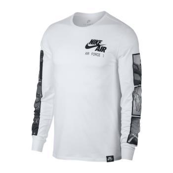 NIKE SPORTSWEAR AIR FORCE 1 男子長袖T恤 875629-100