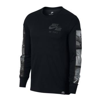 NIKE SPORTSWEAR AIR FORCE 1 男子長袖T恤 875629-010