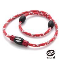 《Zaoral》甦活磁石項圈-紅/黑RD/BK (M號)