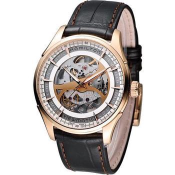 漢米爾頓 Hamilton Jazzmaster 創新鏤空機械錶 H42545551