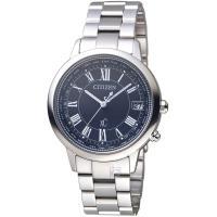 CITIZEN 星辰 xC系列城市環越鈦金屬限量腕錶 CB1100-57E