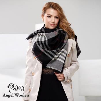Angel Woolen 浪漫英倫極緻羔羊毛披肩 圍巾(共兩色)
