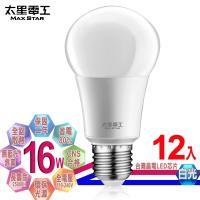 太星電工  LED燈泡 E27/16W/白光(12入)