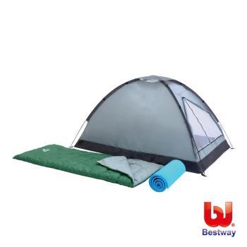 《哈街》Bestway。帳篷 睡袋 睡墊雙人露營套裝組