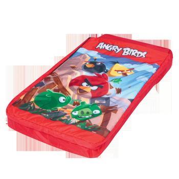 哈街 憤怒鳥兒童充氣床鋪/睡袋2合1(附枕)