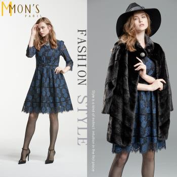 MONS法式浪漫蕾絲宴會洋裝