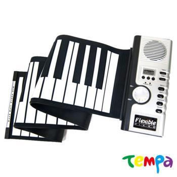 【Tempa】MIDI61鍵矽膠鍵盤手捲鋼琴電子琴
