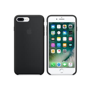 Apple 原廠 iPhone 8 Plus / 7 Plus case 適用 矽膠保護殼 (黑色-盒裝)