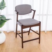 Bernice-莫理斯實木吧台椅/吧檯椅/高腳椅(矮)