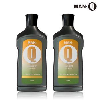 MAN-Q 經典絕對男香沐浴露350mlX2
