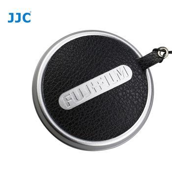 JJC真皮蒙皮貼CS-X100鏡頭蓋防丟繩(適Fujifilm富士X100v X100s X100t X100f)