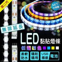 【Incare】第二代LED黏貼式充電燈條(3米/主線*1+副線*5)