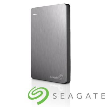 Seagate Backup Plus V2 Slim 2.5吋 外接硬碟 1TB銀色