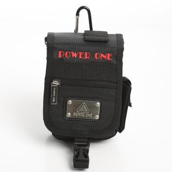 DF Bag school - POWER ONE 型男款多功能腰掛包-共2色