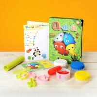 【Q-doh】有 機矽膠黏土 四色工具組