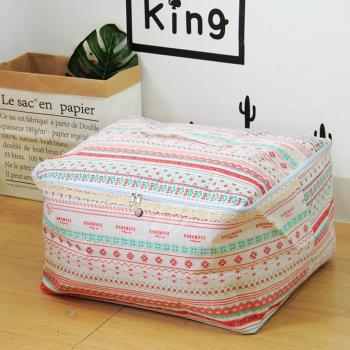 收納職人 衣物棉被大容量防水防塵袋收納袋收納箱50L 手作風