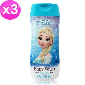 【Disney FROZEN】卡通沐浴乳(8oz/236ml) 3入組
